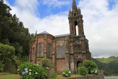Old Church, Furnas in Azores