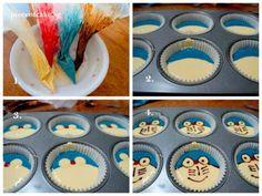Doraemon Cupcakes Web 1