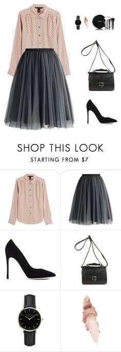 """Untitled"" by juliette-1717 on Polyvore featuring мода, Marc by Marc Jacobs, Chicwish, Gianvito Rossi, ROSEFIELD, Chanel и Maybelline"
