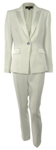 Two piece set Full lining: Polyester Single button front closure jacket White Tops, Swarovski, Polish, Pure Products, Blazer, Suits, Jackets, Women, Fashion