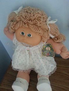 Vintage Cabbage Patch Doll 1983