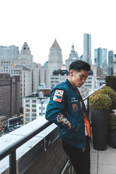 How to wear a Souvenir Bomber Jacket   Levitate Style NYC #Spring #Menswear Outfit