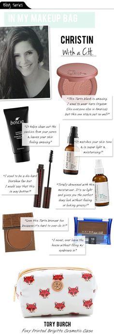 In my Makeup Bag: all natural!