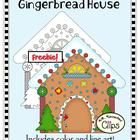 """Includes color and line art """"Gingerbread House"""". (300dpi)  Perfect companion to my Gingerbread Friends Collection  Commercial use welcome on produc..."""