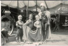 Circus Performers 1942