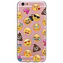 Incendemme Coque Housse / Etui Téléphone en Silicone Souple Unique Emoji Mode pour iPhone (iPhone 5/5s/SE, 12)