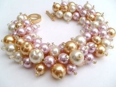 Hey, I found this really awesome Etsy listing at https://www.etsy.com/listing/163449180/bridesmaids-bracelets-chunky-bracelets
