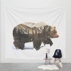 Buy Arctic Grizzly Bear Wall Tapestry by Andreas Lie. Worldwide shipping available at Society6.com. Just one of millions of high quality products available.