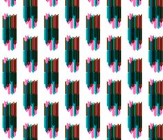 arrow stripes collage by pencilmein on spoonflower