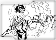 max steel printable coloring pages | 1000+ images about Max Steel Printables on Pinterest | Max ...