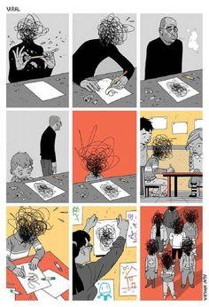 64 Illustrations satiriques et réalistes de Asaf Hanuka (5)