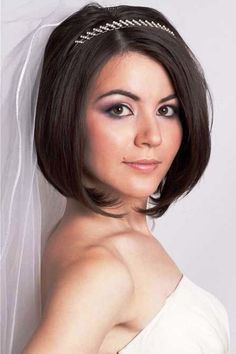 Short Hairstyles for a Wedding_04