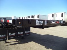 New Renn Step Deck Trailer for Sales and Rent Ocean Trailer Trailers, Commercial, Deck, Ocean, Pendant, Decks, The Ocean