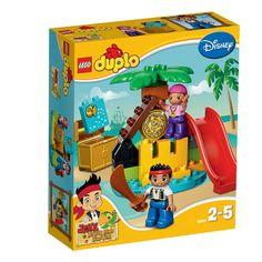 Lego Duplo Treasure Island DISNEY Jake And The Neverland Pirates for sale online Lego Duplo, Lego Toys, Buried Treasure, Pirate Treasure, Treasure Chest, Best Lego Sets, Toys R Us Canada, Buy Lego, Lego Group