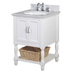 "KBC Beverly 24"" Single Bathroom Vanity Set & Reviews 
