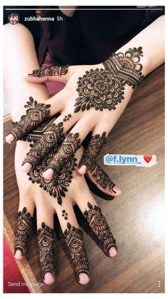 Henna Hand Designs, Dulhan Mehndi Designs, Mehendi, Mehndi Designs Finger, Beginner Henna Designs, Modern Mehndi Designs, Mehndi Design Pictures, Bridal Henna Designs, Mehndi Designs For Fingers