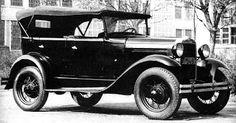 Ford Model A - американский дедушка советского ГАЗ-А