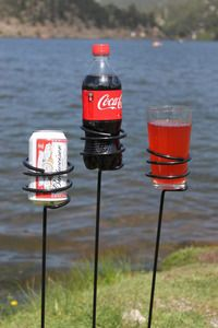 Yard Stake Drink Holders – All For Garden
