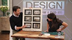 Window Picture Frame How-To  Learn how to make your own window picture frame with step-by-step instructions from crafter Amy Hughes!