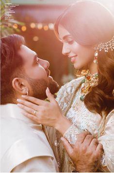Iqra Aziz's latest photo shoot with fiancé Yasir Hussain - The Odd Onee Pakistani Formal Dresses, Pakistani Girl, Pakistani Dramas, Cute Couple Selfies, Cute Couple Pictures, Couple Pics, Indian Photoshoot, Bridal Photoshoot, Romantic Couples