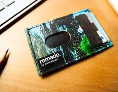 Discarded Canvas Waste Becomes Wallets: Remade by CanvasPop