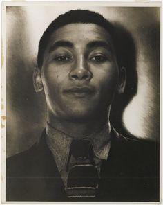 Countee Cullen, African-American poet  - photo by consuelo kanaga - circa 1930s