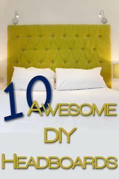10 Awesome DIY Headboards