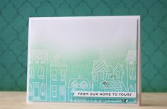 Card by Laura Bassen featuring The Bee's Knees Houses