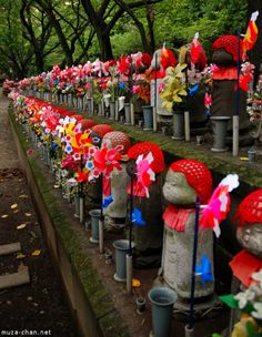 JIZO | Jizo Rows, Zojo-ji Temple, Tokyo