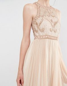 Frock and Frill | Frock and Frill Tulle Maxi Dress With Embellished Bodice