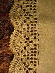 Imagen relacionada #CrochetEdging