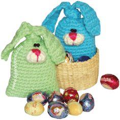 Tutorial: conejos de Pascua amigurumi - amigurumi easter bunny rabbit