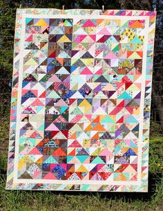Caravan of Geese Quilt | Craftsy