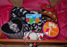 Brighton watch, Blessing bracelets, Invisibelt, Spring scarf, Beadorble belt, and top it off with a LunaChic gift card!