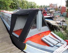 Narrowboat Interiors, Charter Boat, Canal Boat, Used Boats, Colour Schemes, Best Interior, Outdoor Gear, Beams, Houseboat Ideas