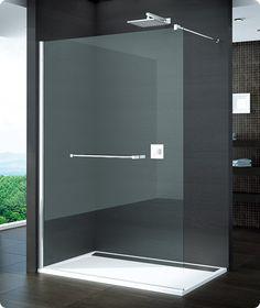 Con cristal de 8 mm. y tratamiento antical AQUAPERLE, este fijo para ducha lo puedes combinar con un toallero y una repisa de cristal en el interior
