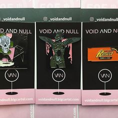 Repost from @_voidandnull - New packaging! All lapel pins will now come attached to one of these 2x3.5 cards! Shop link in bio! RESIT PIN ON SALE . #bbllowwnnup #punkpins #pinsaddiction #streetwear #flair #hatpins #pingame #enamelpin #enamelpins #lapelpin #lapelpins #softenamelpins #pinstagram #pin #pins #pinsofig #pinoftheday #pincollector #pincollection #pinpost #graphicdesign #grapicdesigner #wings #harpy #poc    (Posted by https://bbllowwnn.com/) Tap the photo for purchase info.  Follow…