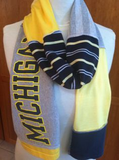 University of Michigan scarf