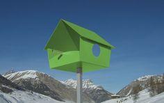 Modern Birdhouses  #modern #birds