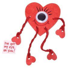 knutsel idee voor valentijn
