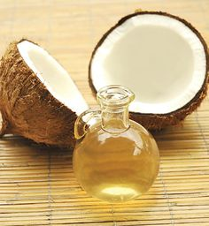 Coconut oil for eye makeup remover.