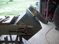 awesome welding positioner on a welding bench