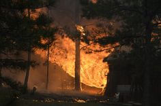 COLORADO SPRINGS, CO - JUNE 11, 2013 - Black Forest Fire (Photo by Helen H. Richardson/The Denver Post via Getty Images)