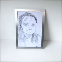 This is a portrait i am selling at Polly's Place for £45.