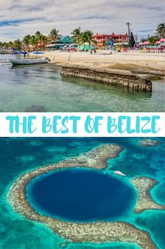 Jungle lodges, cave tours, Mayan ruins, snorkelling and the Great Blue Hole are just a few highlights of this one week itinerary for #Belize.   #Travel | #Caribbean | #SanPedro | #SanIgnacio | #GreatBlueHole | #CayeCaulker