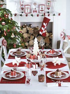 Sencillas y rápidas ideas para decorar tu mesa en Navidad   Decoración
