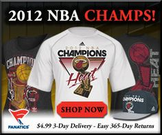 Will this Miami Heat dynasty have enough to be one of the greatest of all-time…? As long as James, Wade and Bosh can continue to play at the level they did in the 2012 season, winning the second championship in team history will not be the last one to hit the southern courts. Grab the official locker room gear of your 2012 NBA Champions!