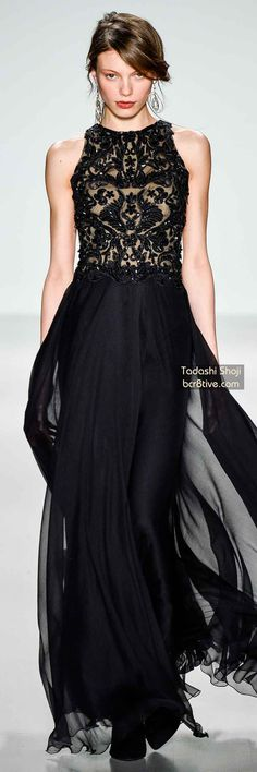 The Best Gowns of Fall 2014 Fashion Week International: Tadashi Shoji FW 2014 #NYFW
