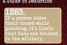 1283 Writing Tips, Writing Prompts, Guide To Manipulation, A Guide To Deduction, The Science Of Deduction, How To Read People, 1000 Life Hacks, Wtf Fun Facts, Sherlock Fandom