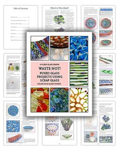 fused glass projects | New eBook! | Fused Glass Projects, Tutorials, Forums, and More